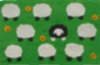 One of our sheep cards - designed by yours truly!
