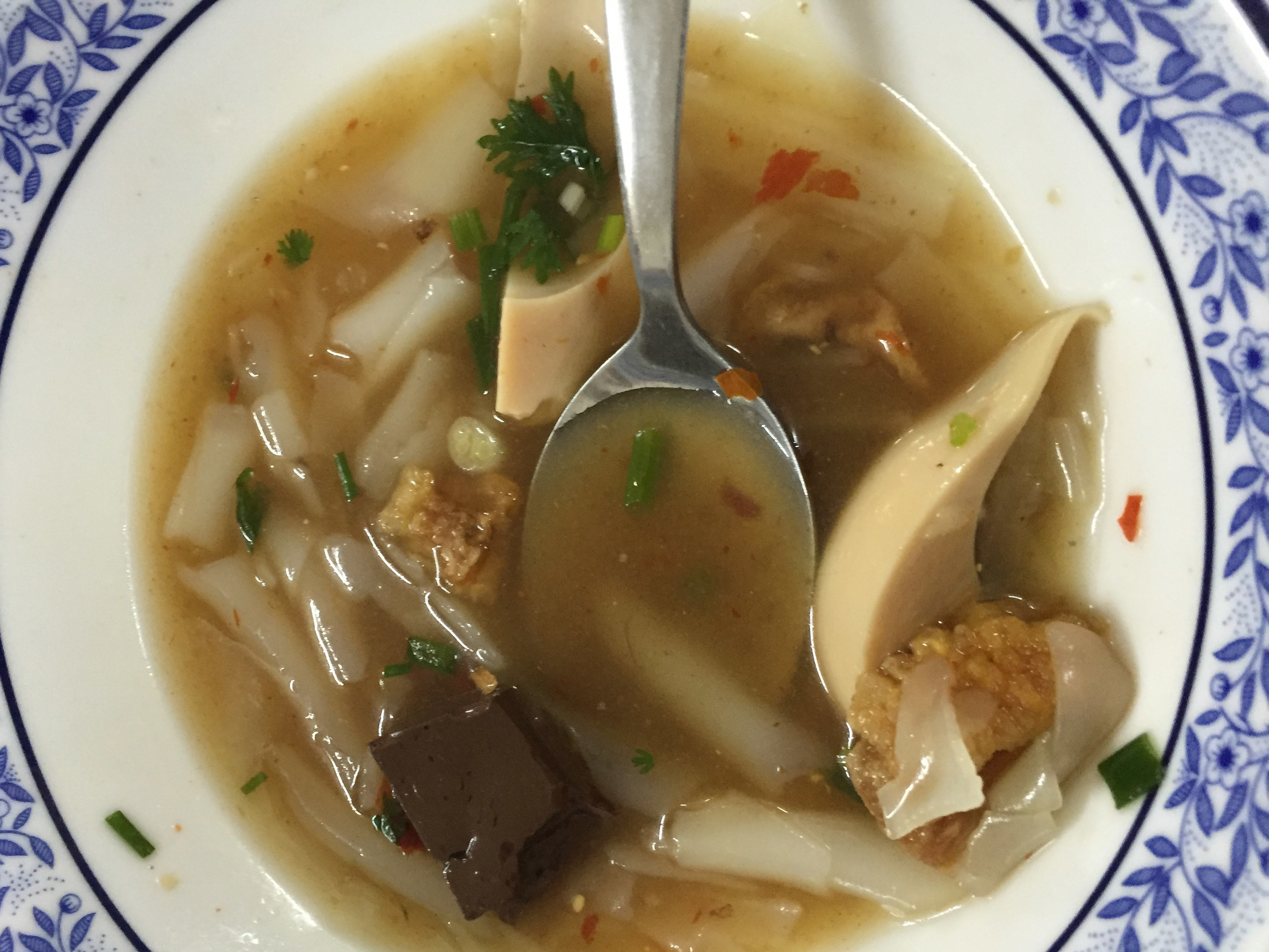 A Traditional Thai Soup.