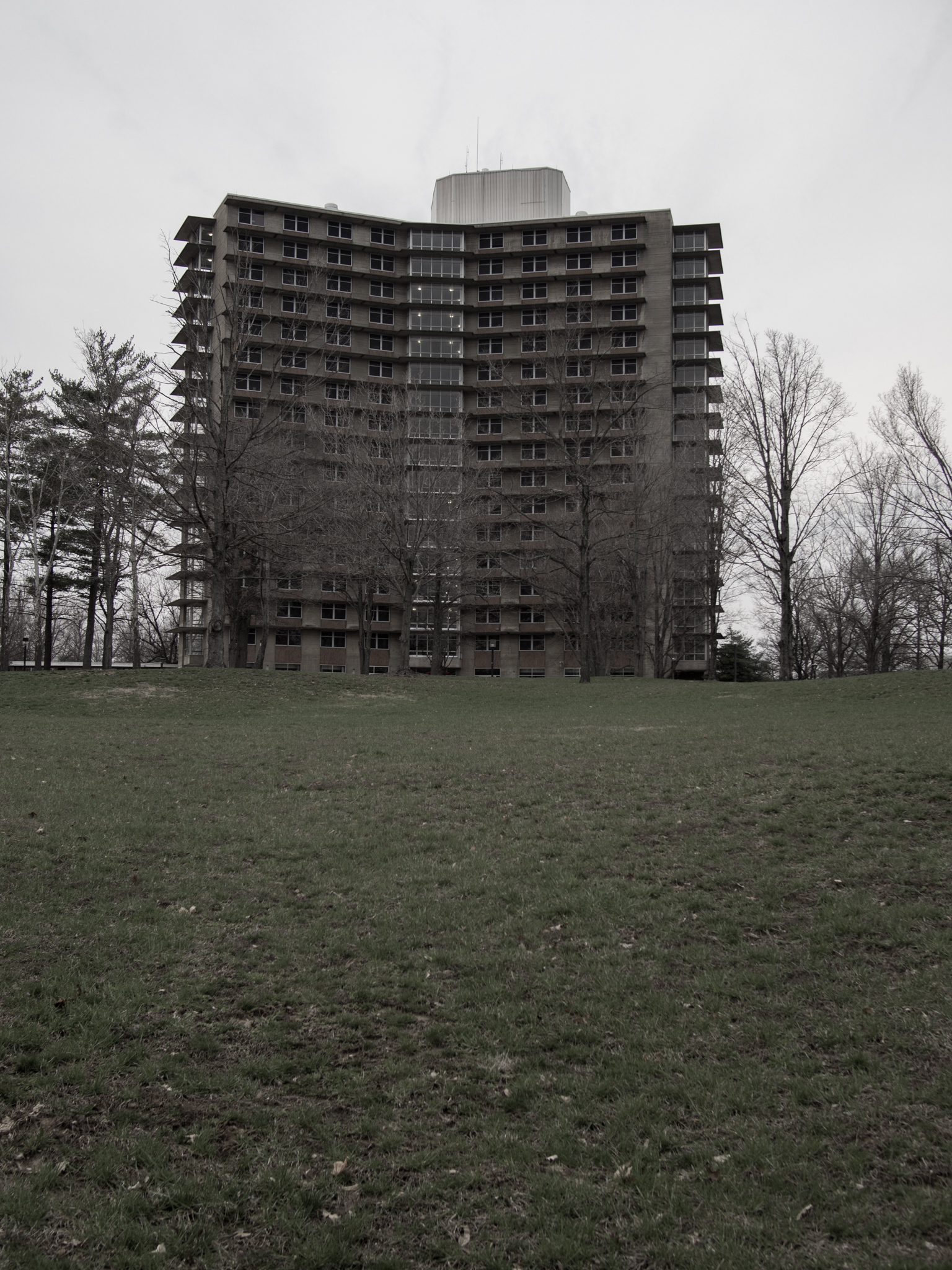 """One of the """"Towers"""" at SIU Carbondale"""