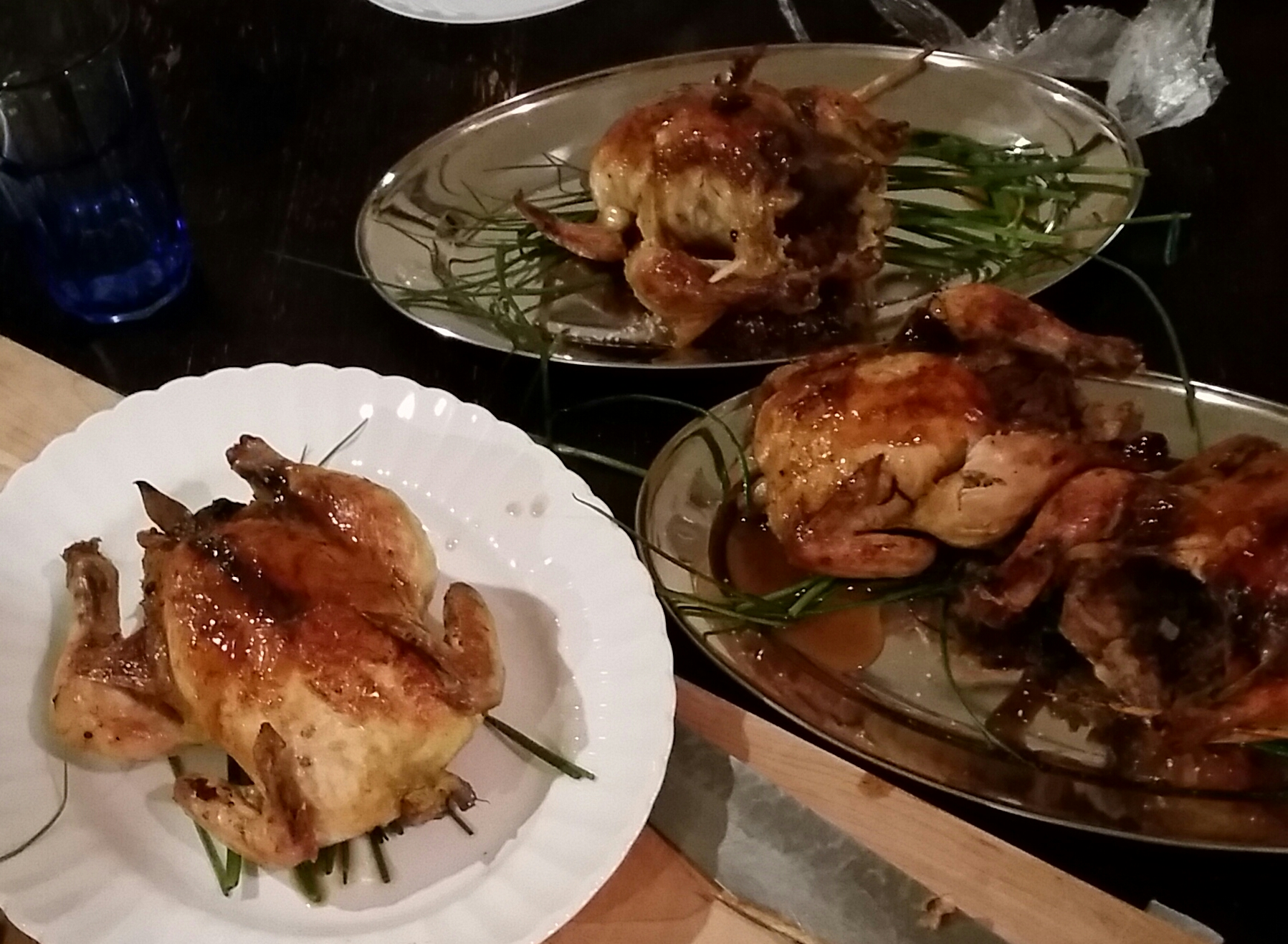 Brined for days and stuffed to the gills.