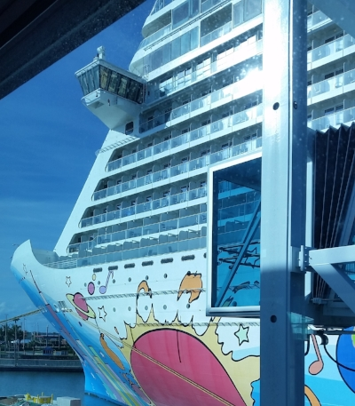 Peter Max is kind of a big deal on this ship.