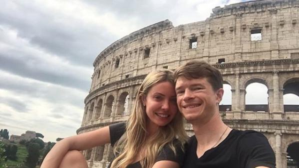 Selfie time in Rome post race.