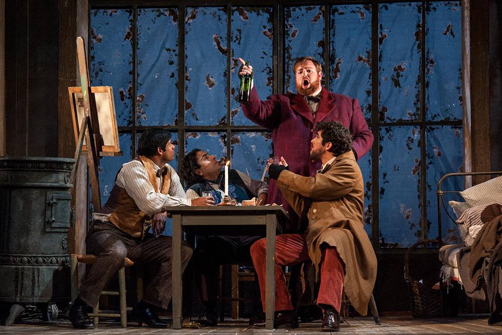 Schaunard , La Boheme,  Michigan Opera Theatre 2015