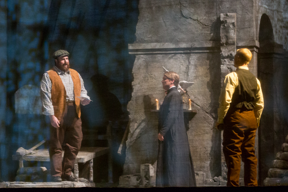 William Dale in  Silent Night  with Michigan Opera Theatre