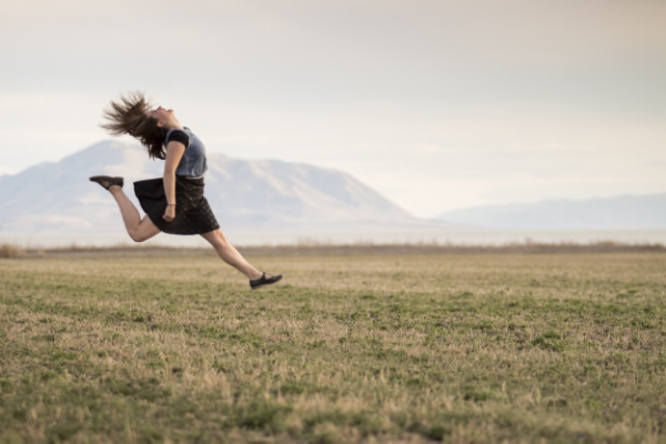 If you don't take a leap, you'll never fly.