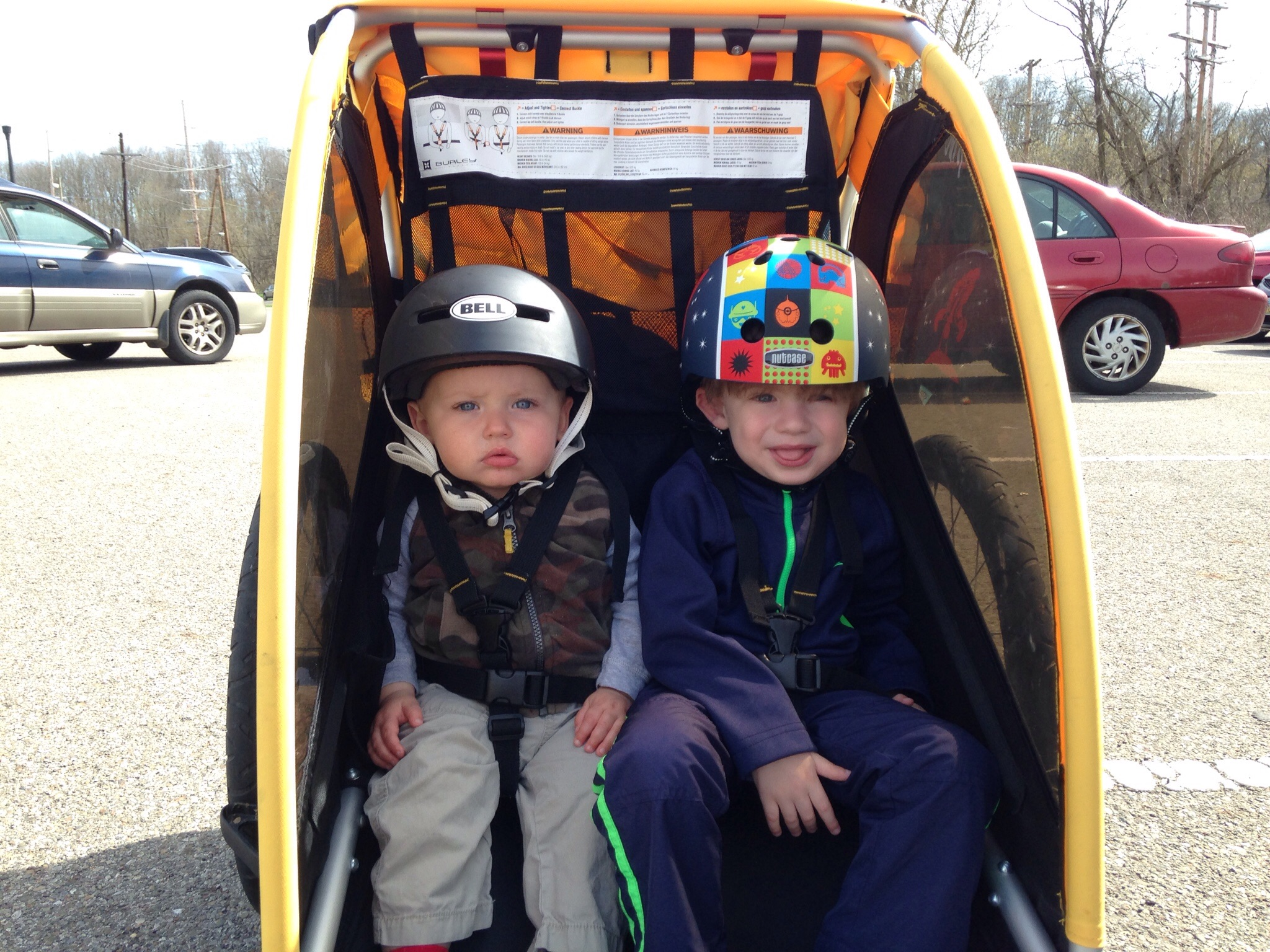 "My boys were born into the ""bicycling gear junky"" tribe."