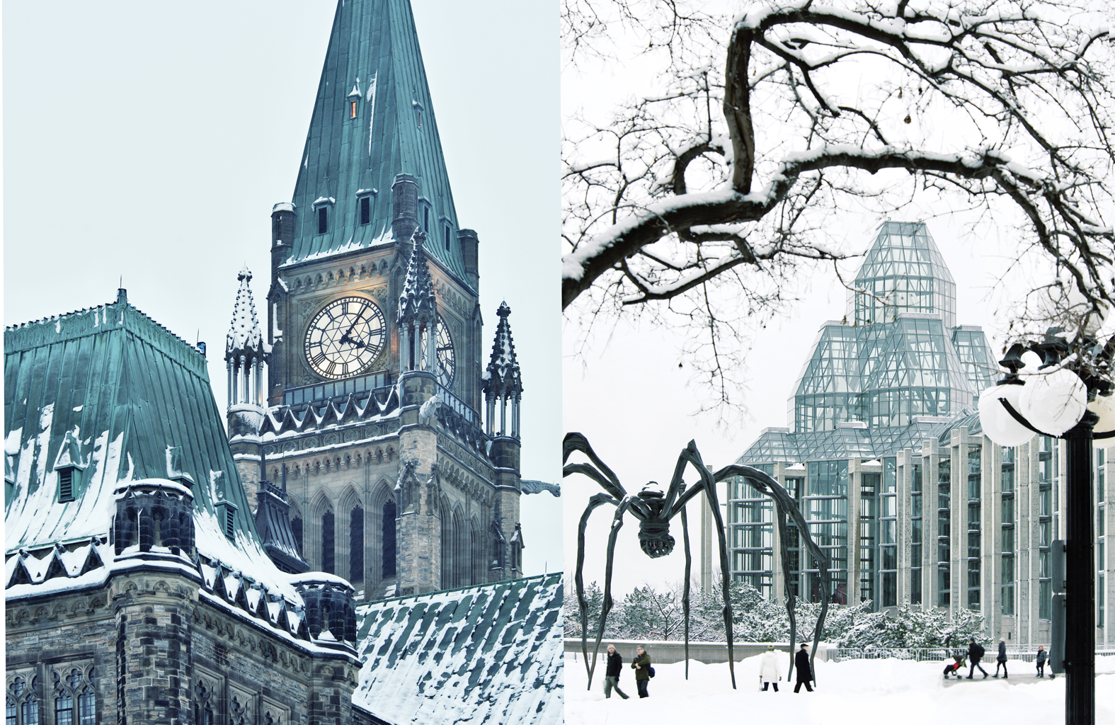 Peace Tower / National Gallery of Canada