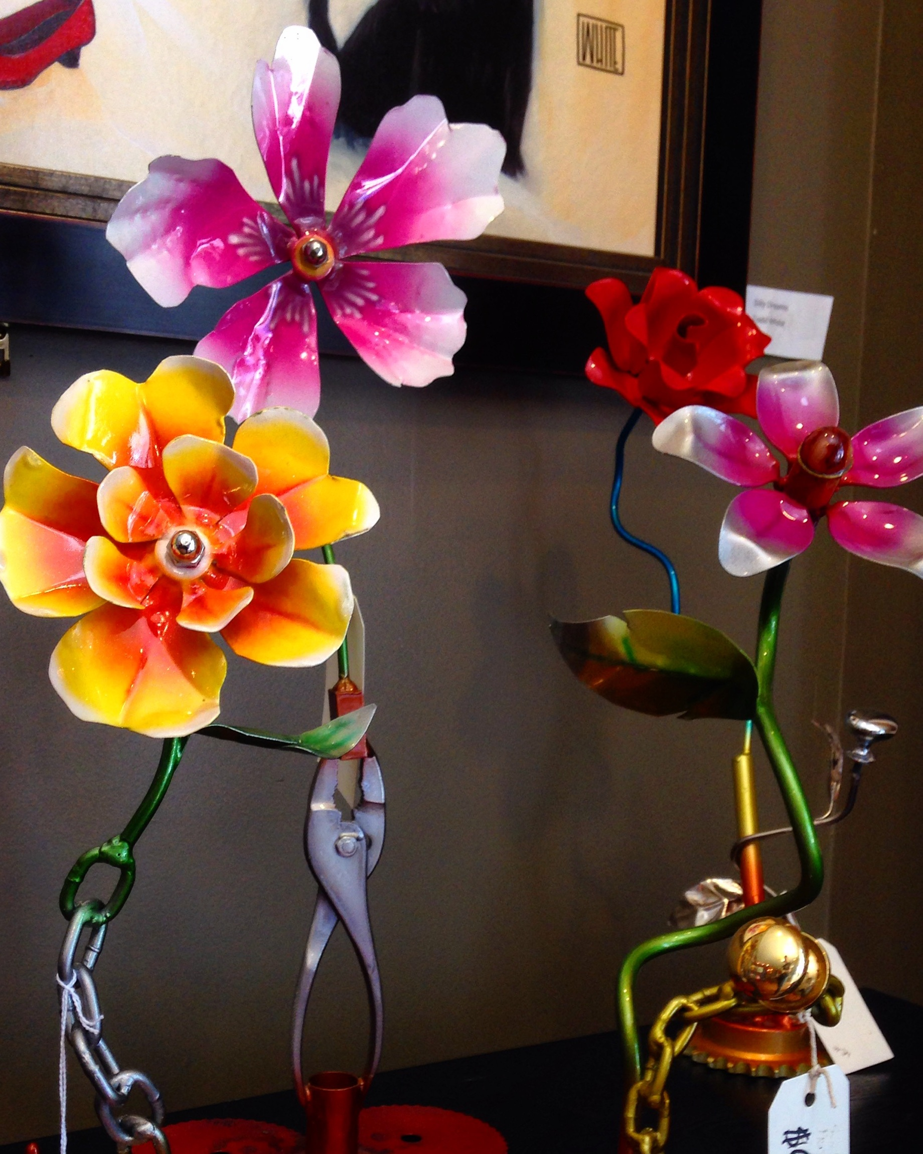 Leo Miller UP CYCLED flowers