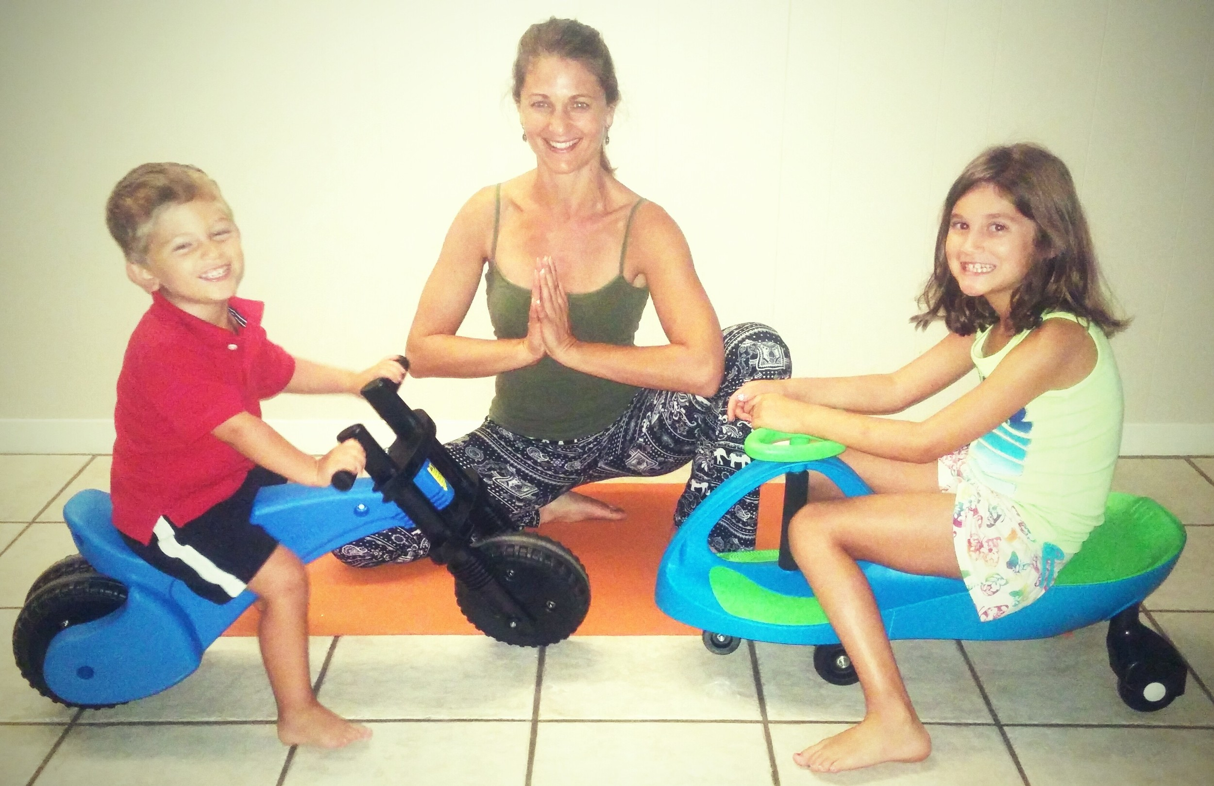 Here's the scoop on Lisa:    She is mom to Alexandra (7), and Dante, (2). Lisa has been a yoga teacher for 12 years, specializing in prenatal and postnatal yoga for the past 5 years. She is the founder and owner of    Austin Prenatal Yoga   . Lisa has a graduate degree in counseling psychology, has completed many yoga teacher training certifications, and is currently earning her second prenatal and postnatal teacher training certificate. She is the recipient of the Austin Birth Awards 2013 Best Prenatal Yoga Instructor.