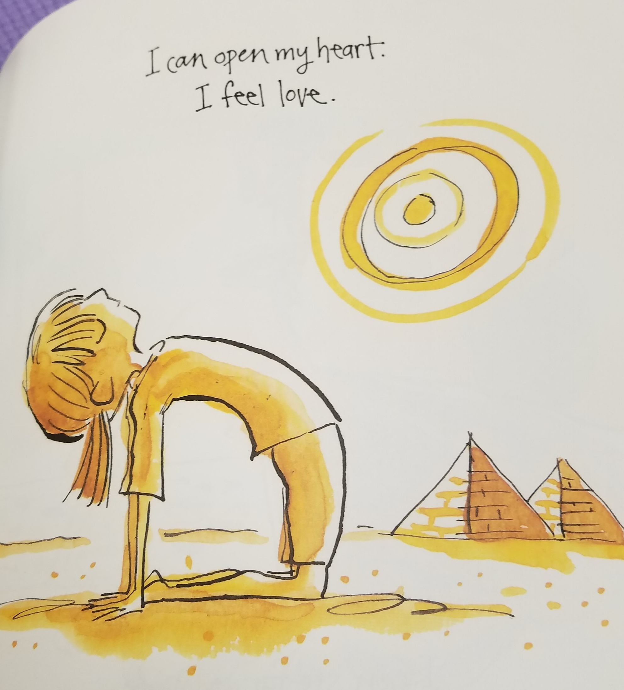 Image from  I Am Yoga  by Susan Verde (2015).