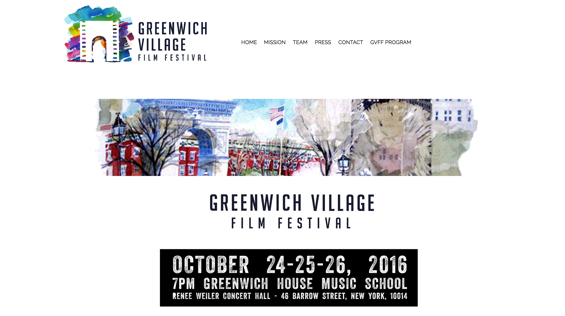 I am so excited to be a part of the #GVFF2016 team producing the event.  Get your tickets here !