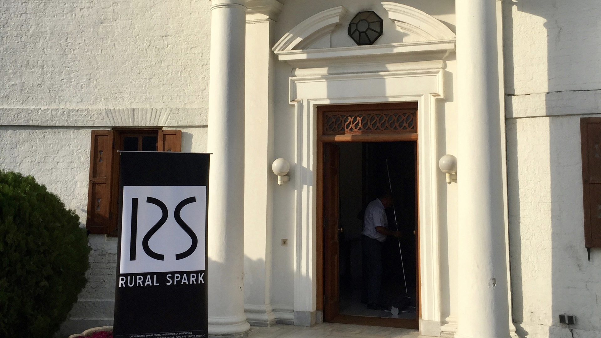 Welcome at the Residence of the Dutch Ambassador in India, now floor to the Rural Spark product launch event.