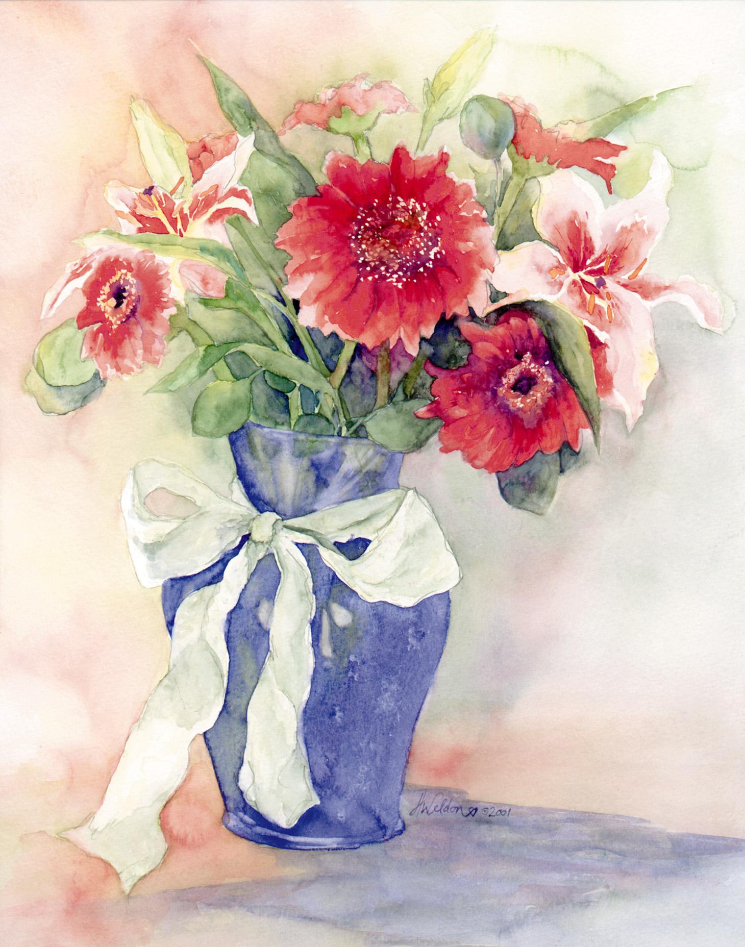 """The Blue Vase"""
