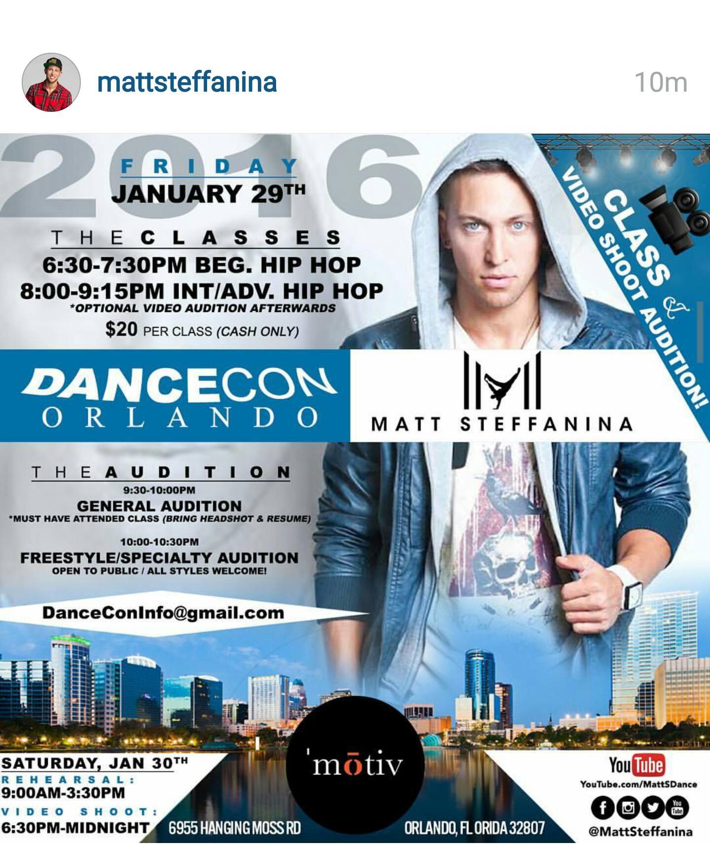 Matt Steffanina DanceCon