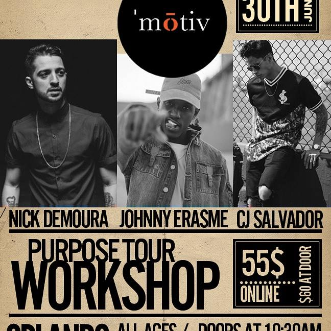 Purpose Tour 2016