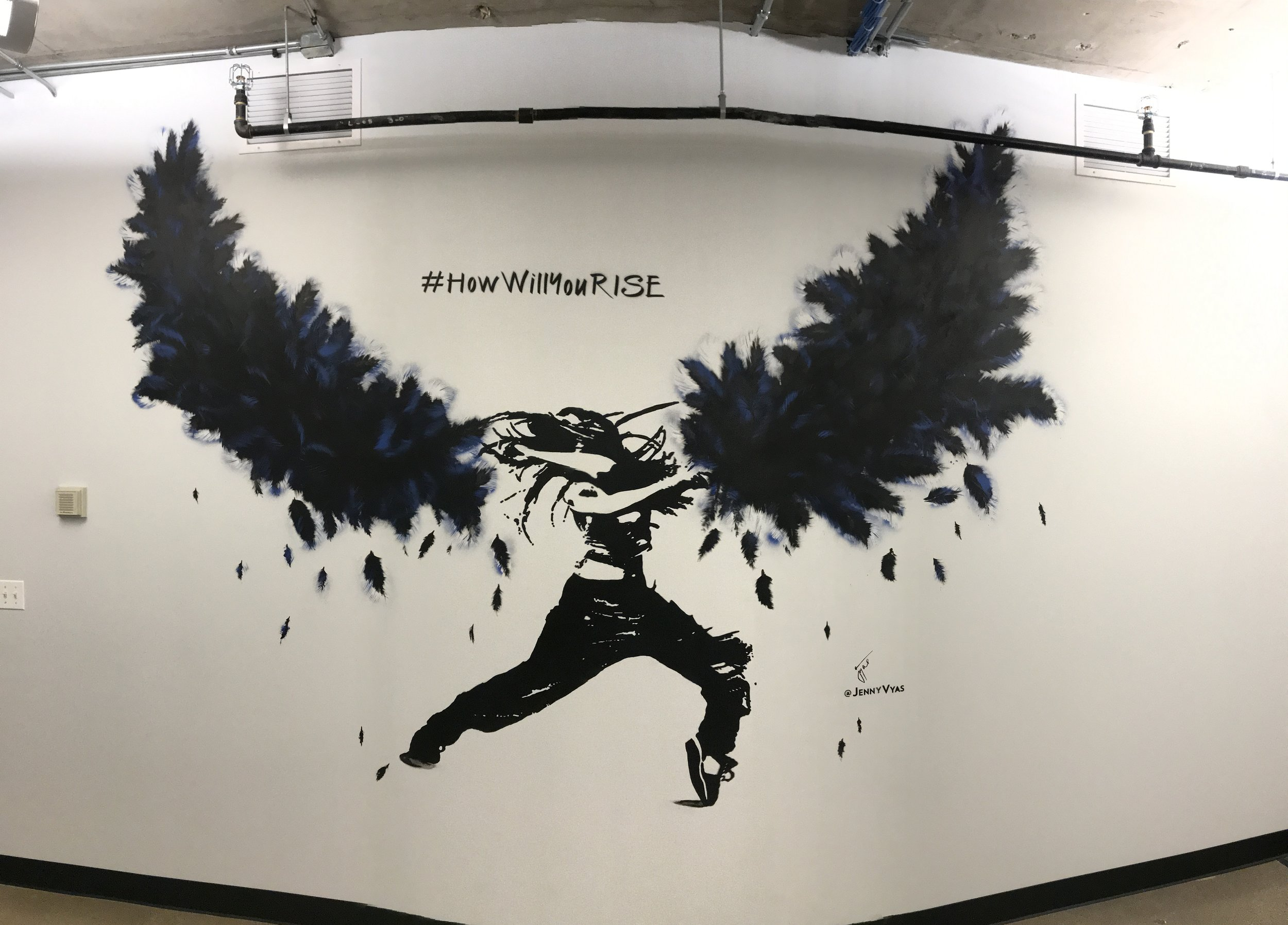 COMMERCIAL OFFICE MURAL