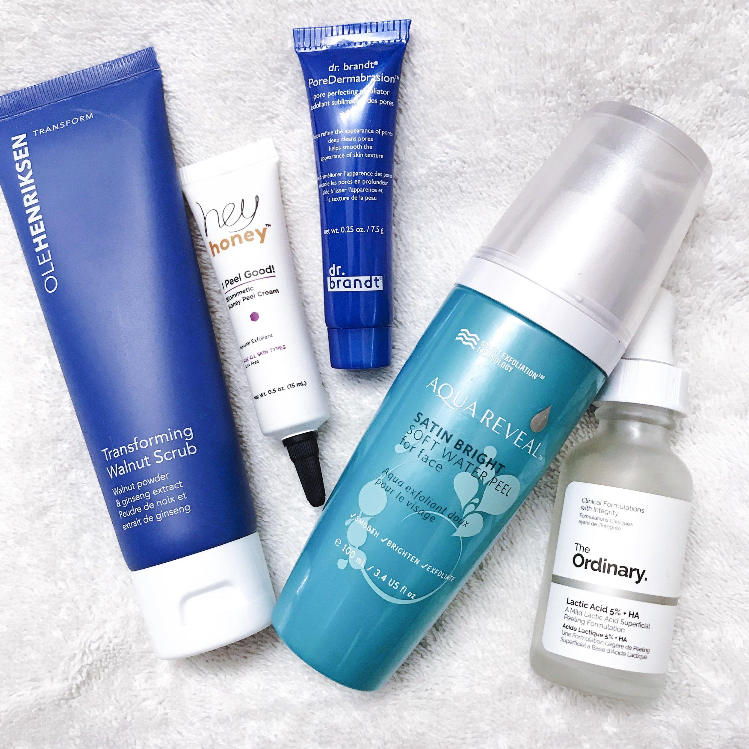 the best exfoliators for sensitive skin