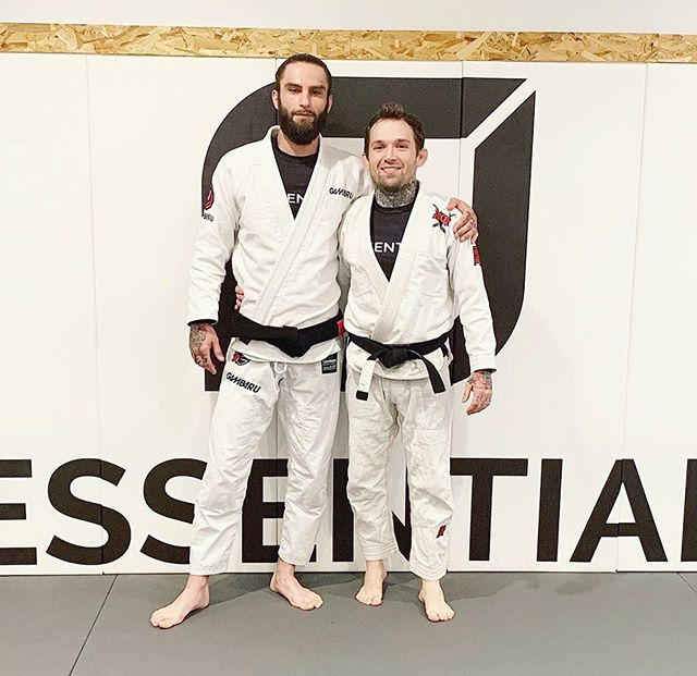 Huge congratulations to @bjjathlete on his black belt promotion this past Friday! 👏🏼🙏🏼    #logic