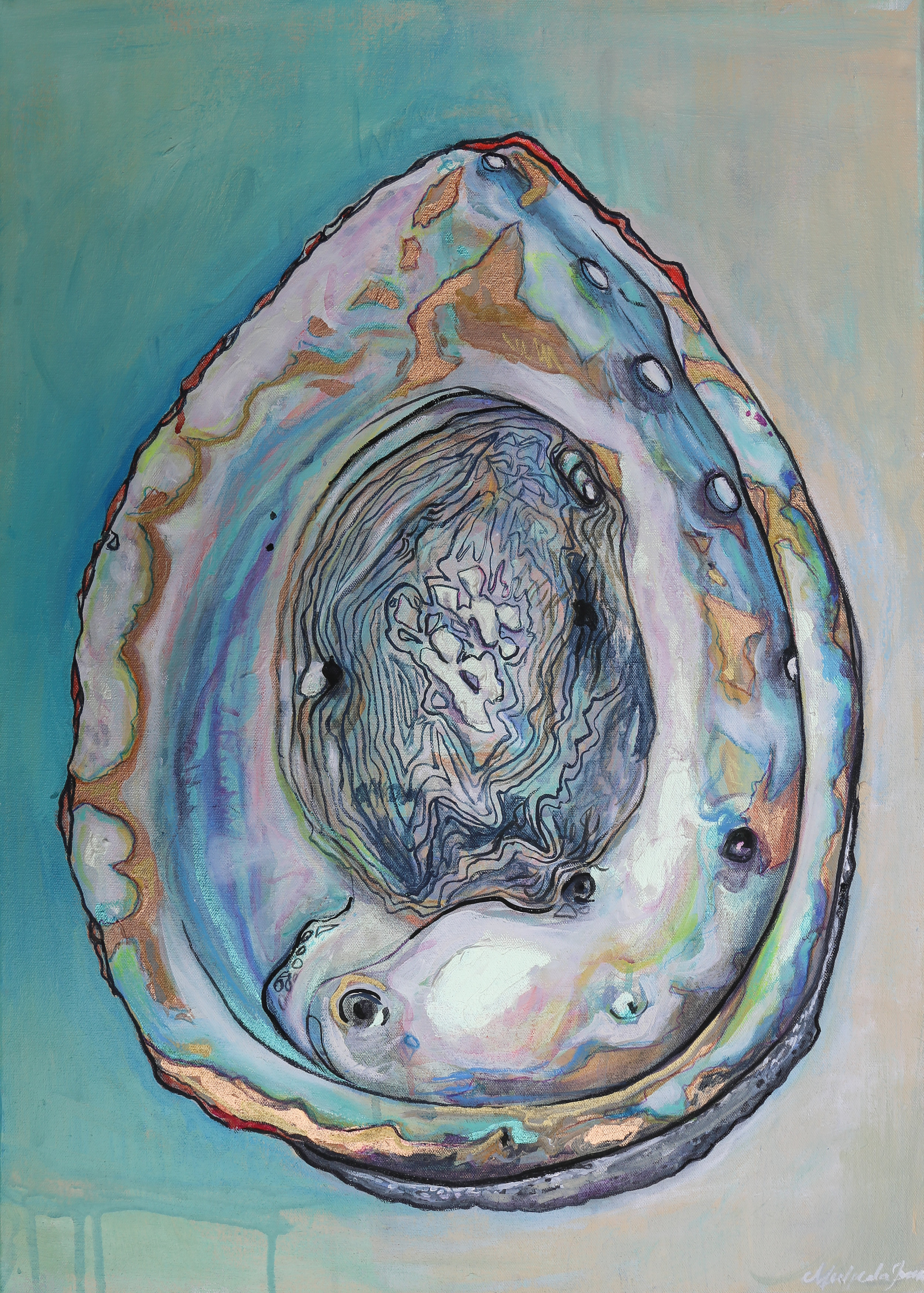 """""""Abalone #1"""" SOLD"""