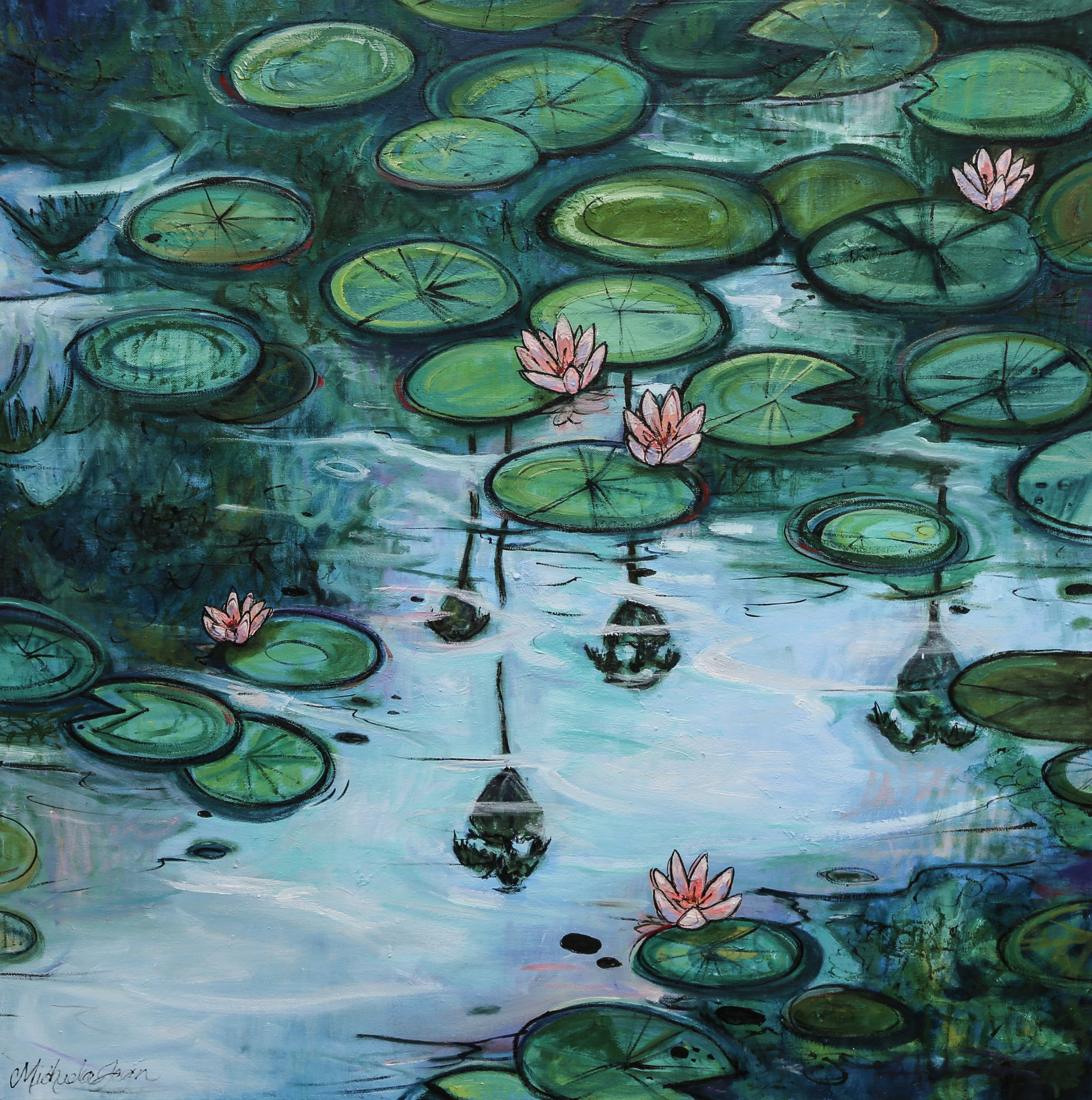 """The Pond at Balboa Park"" - AVAILABLE"
