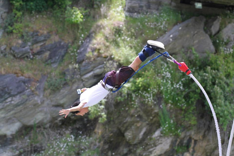 Conquered 3 of New Zealand's Bungee.