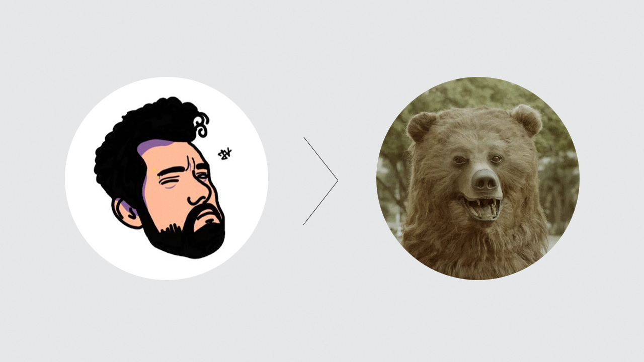 We created the Bear-Fan profile on Twitter. - We invited comedian Cid with almost 2MMfollowers on Twitter to impersonate our characterand interact with the audience in a fun way.(Portuguese only, sorry!)