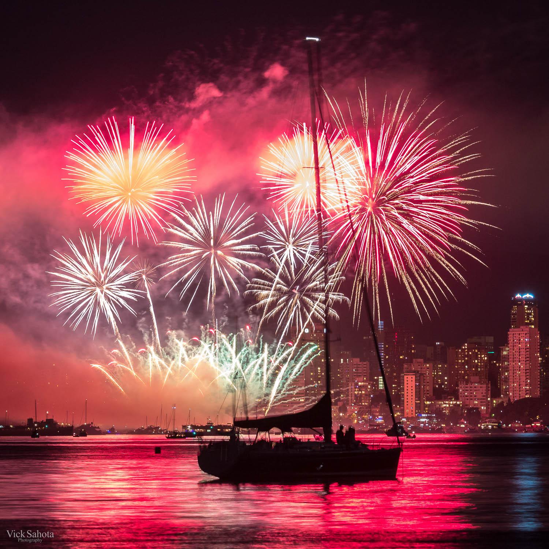 Brazil Celebration of Light Fireworks
