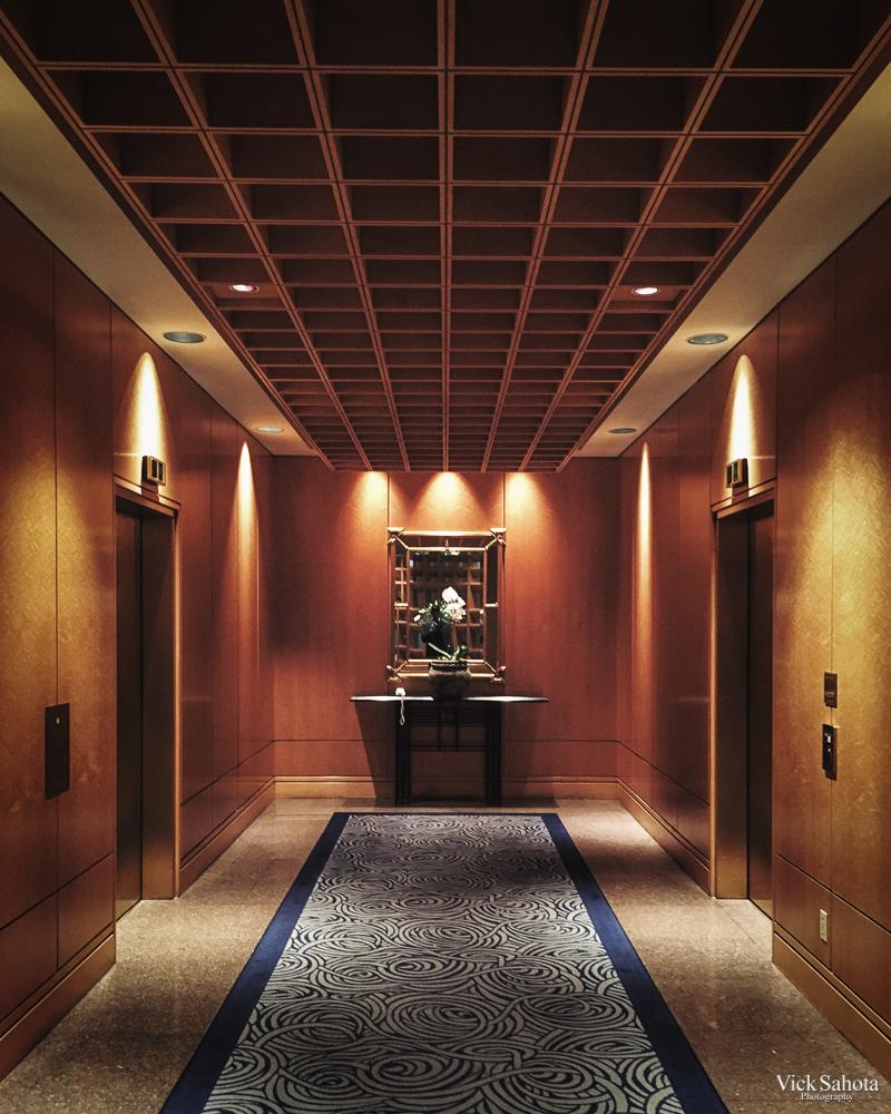 Pan Pacific Elevator Lobby
