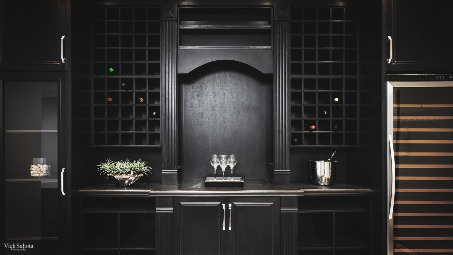 One of my favourite things about this house would have to be the wine rack, it was designed incredible well and looked great.