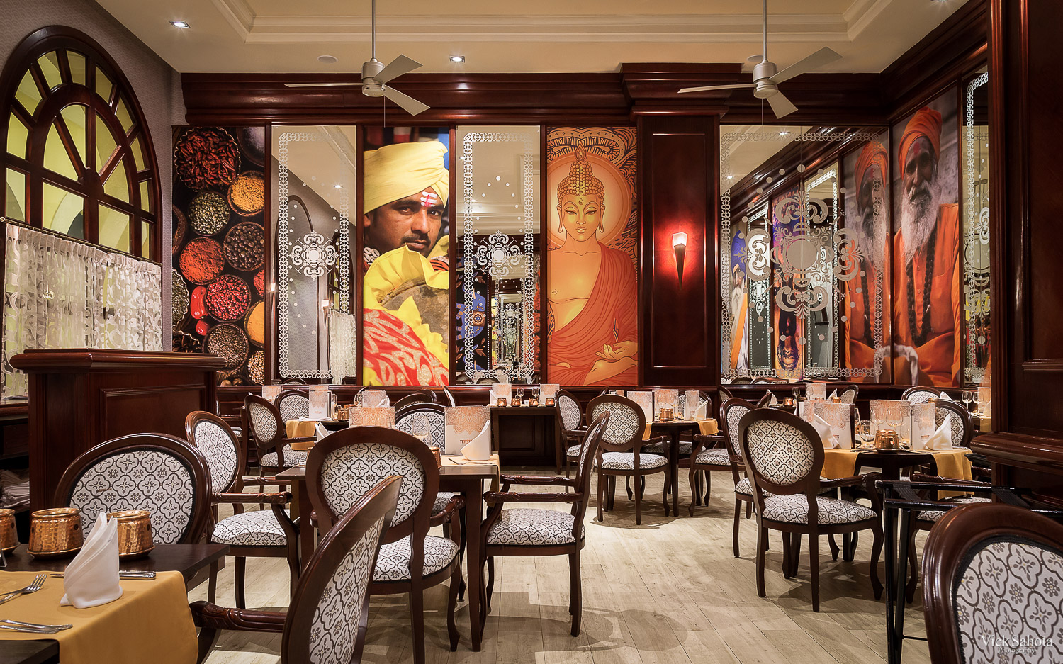 Bombay Restaurant in RIU Palace Cabo
