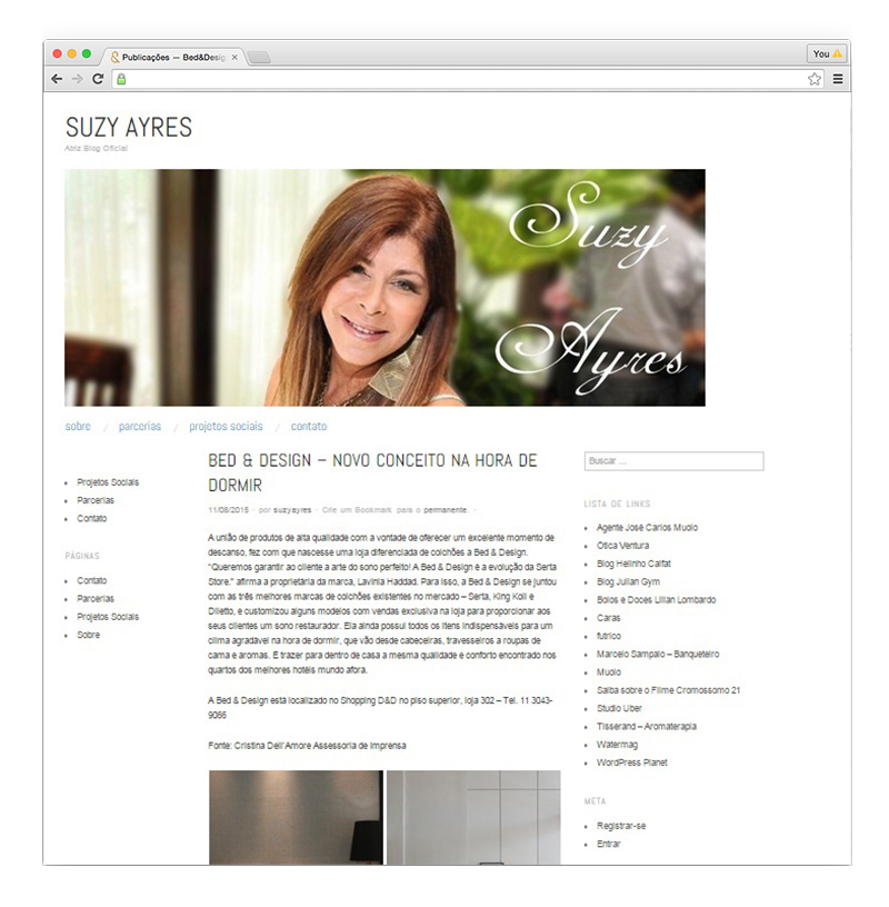 Blog Suzy Ayres