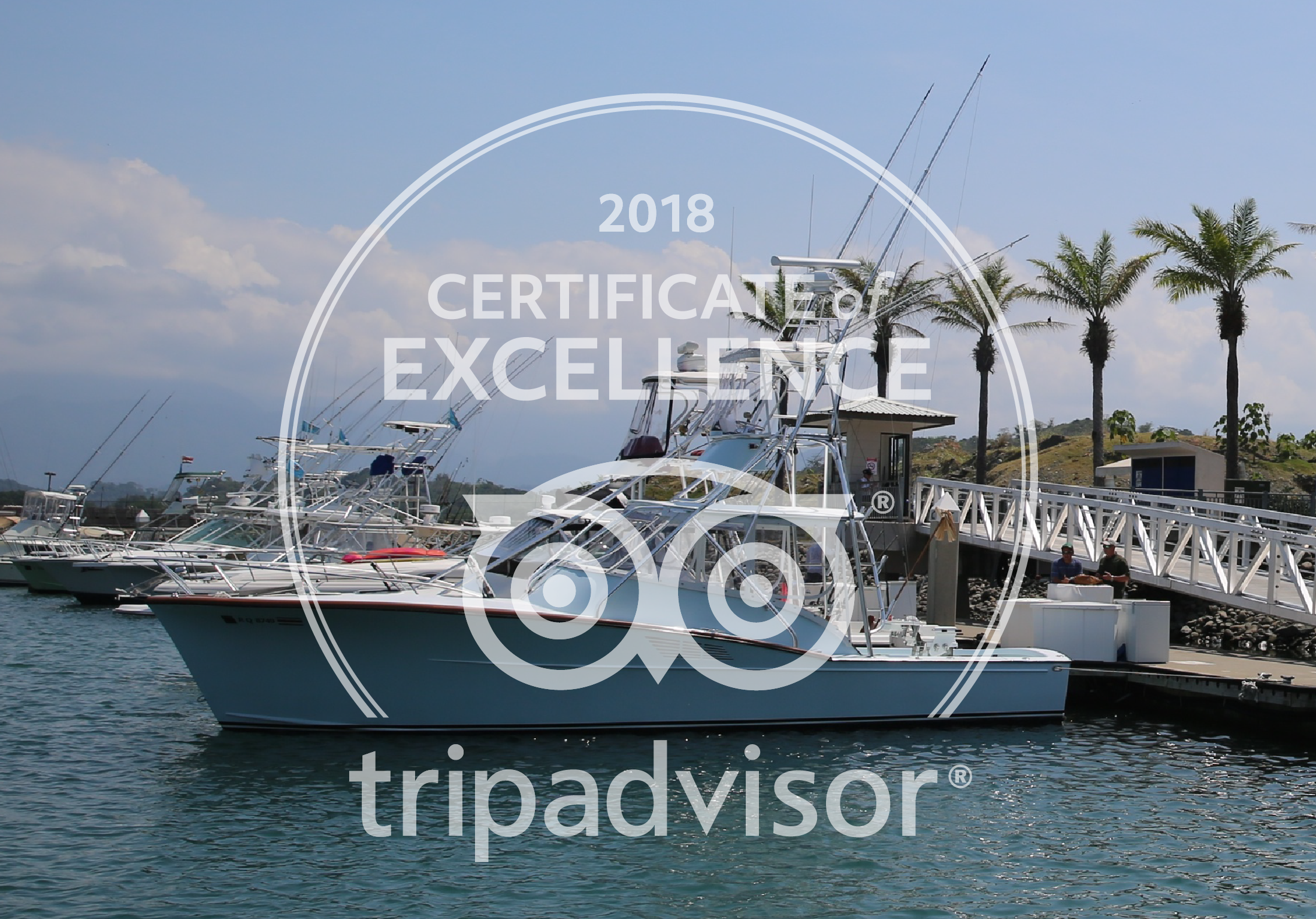 TripAdvisor's Certificate of Excellence 2018 - Thanks to our crew and anglers
