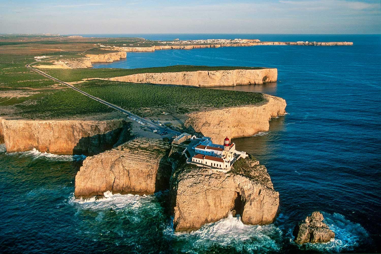 Aerial photo of Cabo De Sao Vicente, Portugal