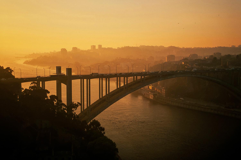 Aerial photo of Porto, Portugal