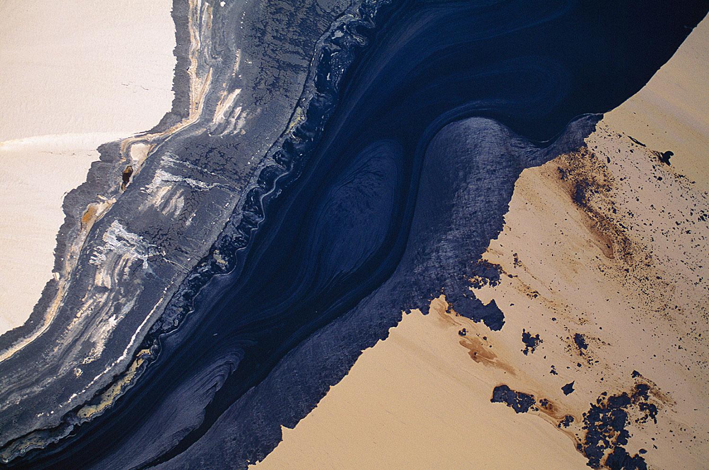 Aerial photo of Alberta Tar Sands, Alberta