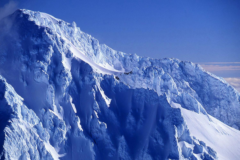 Aerial photo of Mt. Hood, Oregon