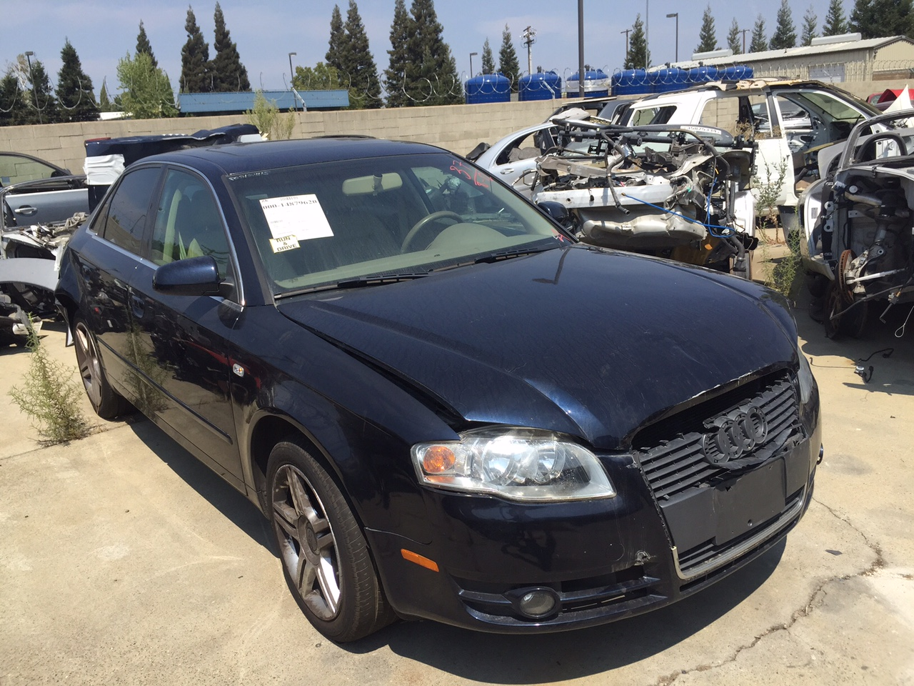 Parting out 2007 Audi A4
