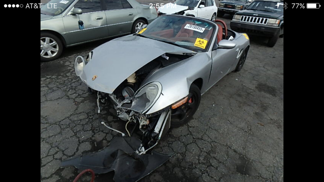 Parting out Porsche Boxster S