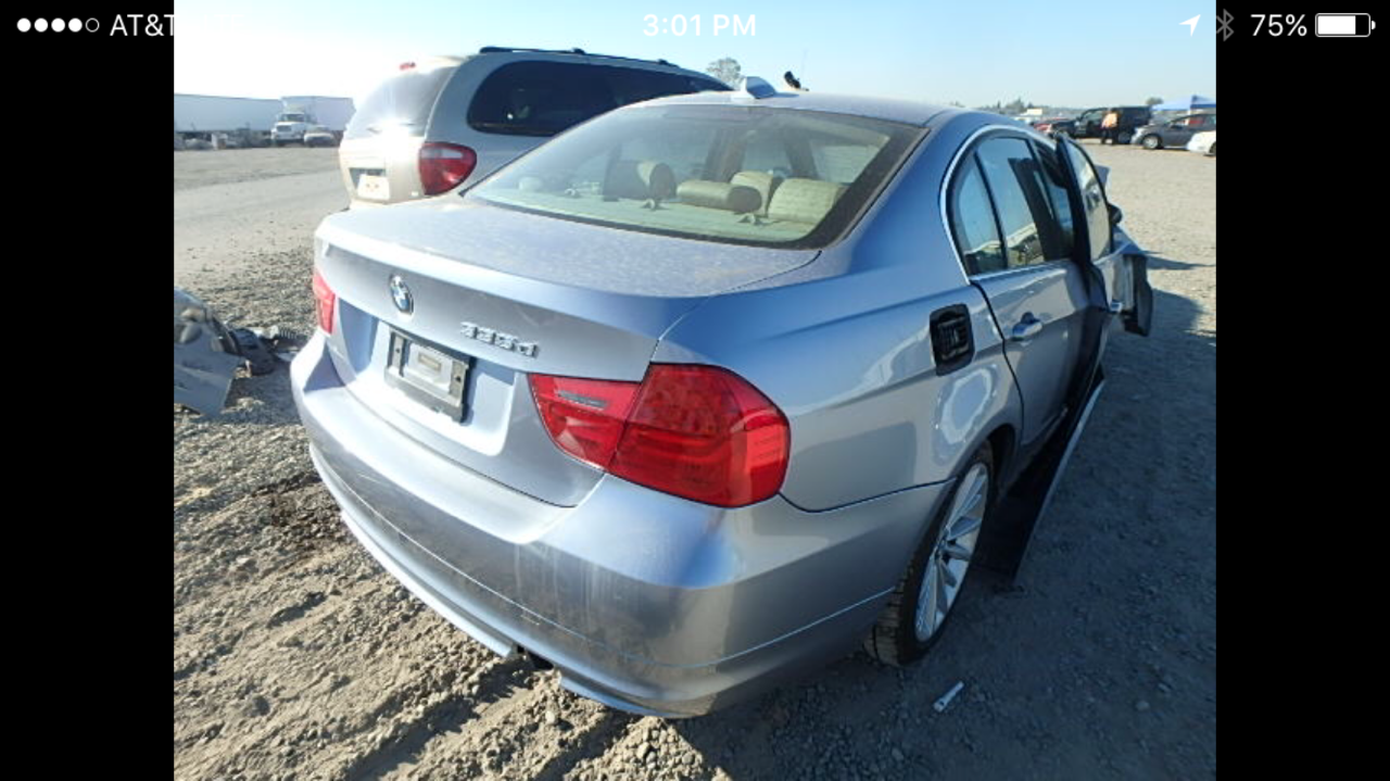 Parting out BMW 335i