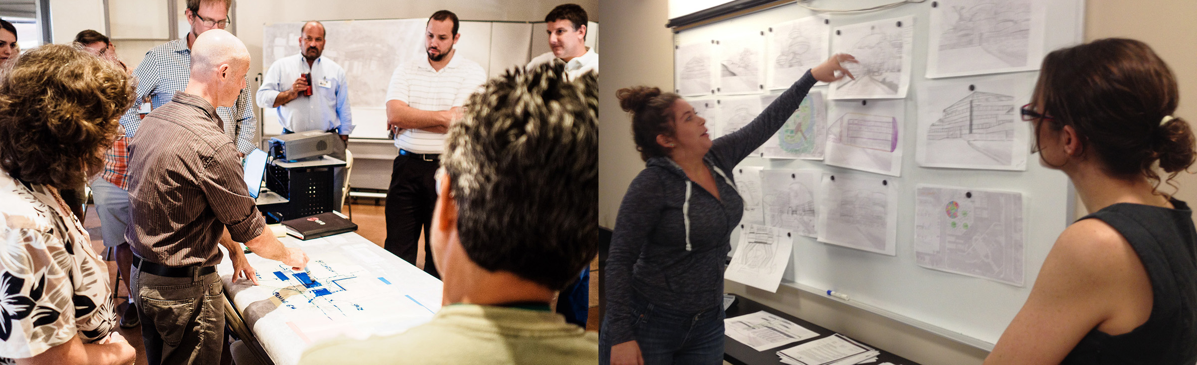 We believe the best work grows out of intense collaboration.
