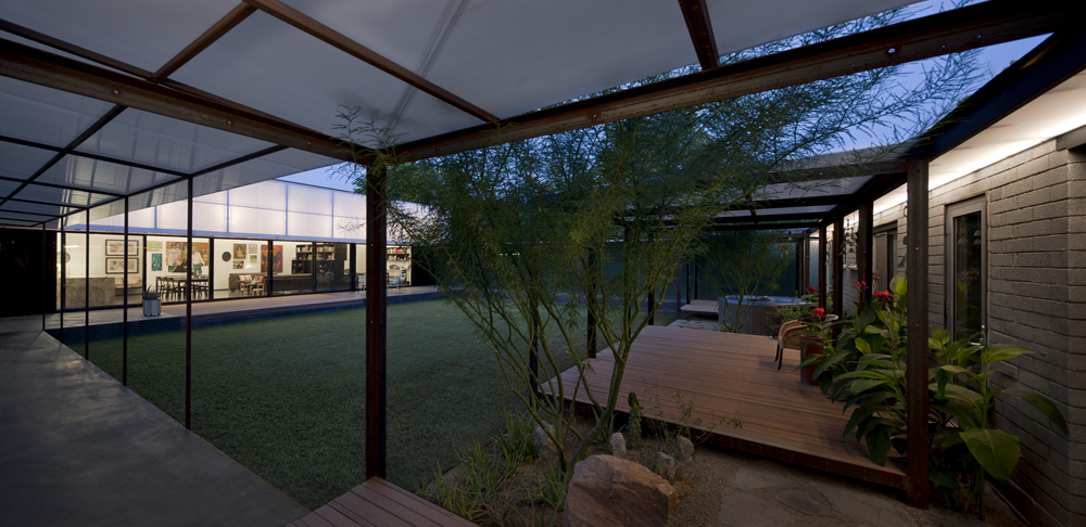 Courtyard House; Cedar Street Residence by coLAB studio