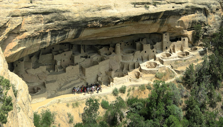 Prehistoric vernacular cliff dwelling