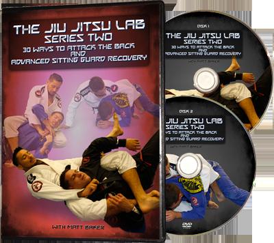 attacking the back and sitting guard jiu jitsu matt baker