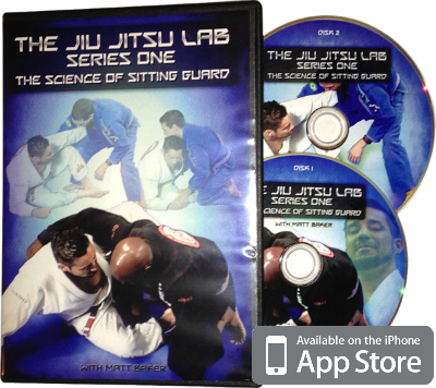Sitting guard instructional dvd Matt Baker Brazilian Jiu Jitsu