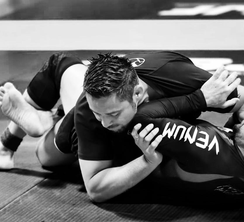 jiu jitsu training matt baker