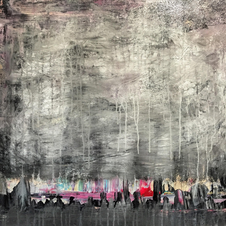 Cracks of Color in City Walls