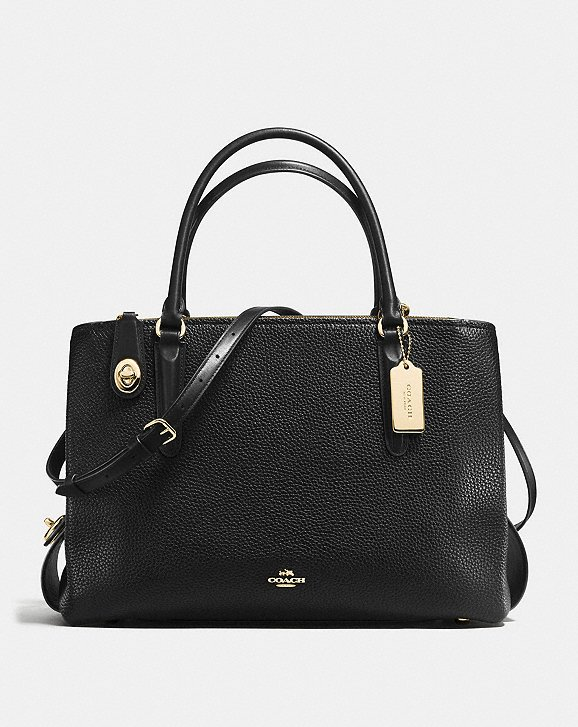 Coach Brooklyn Carryall - My exact Chelsea carryall is no longer available, but this one is really similar and comes in a variety of colors.