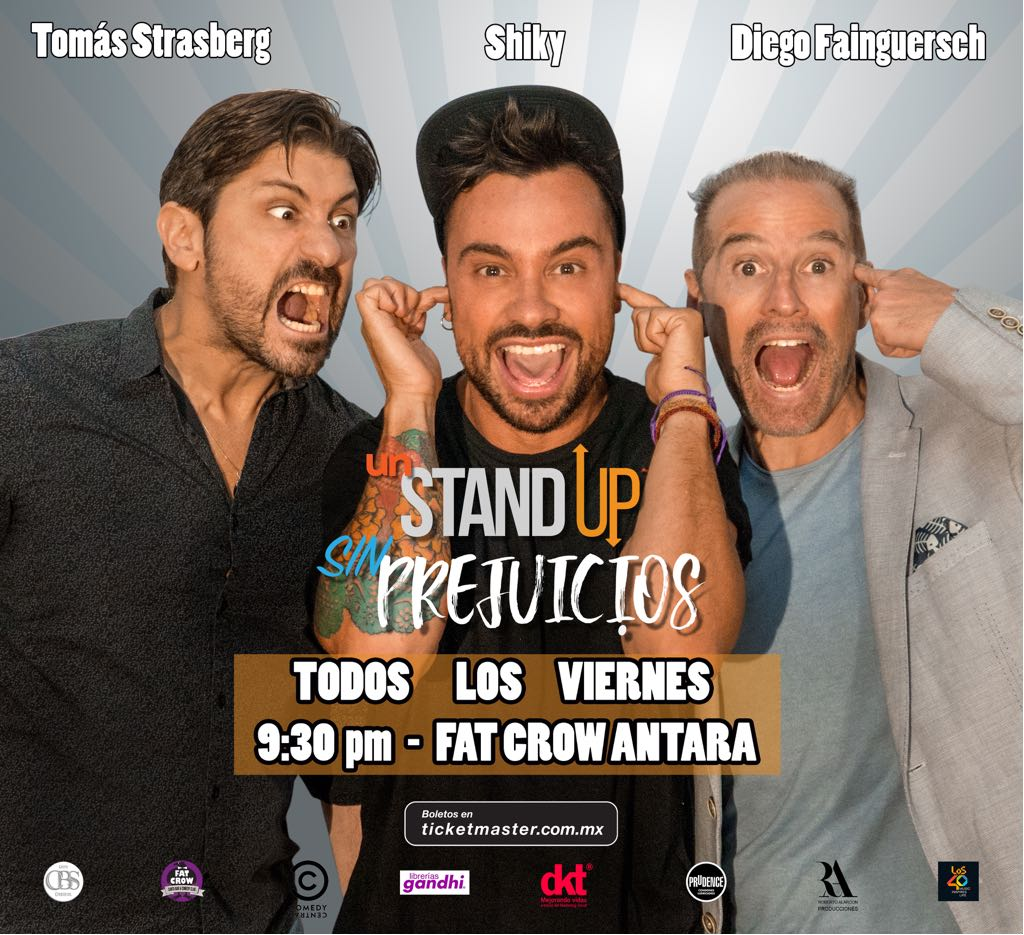 Sin prejuicios (stand up comedy)