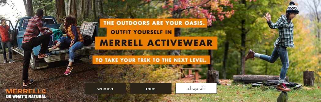 Merrell on zulily.com | Fall '16