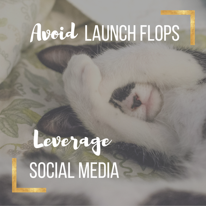 Avoid Launch Flop Leverage Social Media